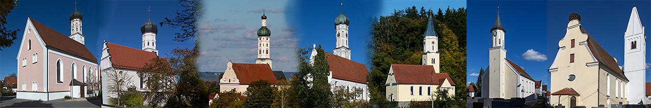 Pfarreien Buttenwiesen, Frauenstetten, Lauterbach, Pfaffenhofen, Oberthürheim, Unterthürheim, Wortelstetten